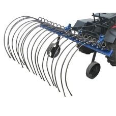 Граблі  механічні  для мототрактора