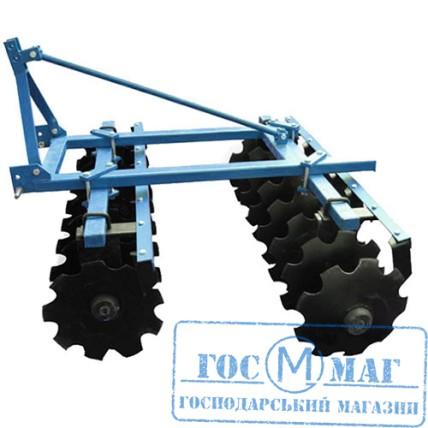 Дискова борона 1.5 до міні трактора ★★★