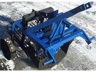 Почалося виробництво нових картоплекопалок для міні трактора