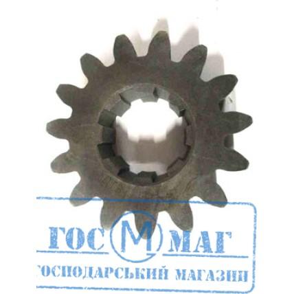 Шестерня циліндрична передавального валу D220хZ13, 8шл * D60-52 грунтофрези 1GQN-180/200