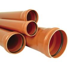 Труба каналізаційна зовнішня 160х3.2 мм*1000 мм SN2